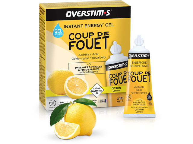 OVERSTIM.s Coup de Fouet Liquid Gel Box 10x30g Lemon